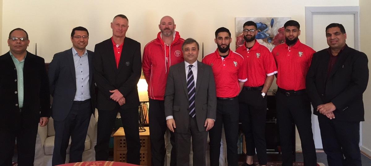 Besøg på den Pakistanske Ambassade
