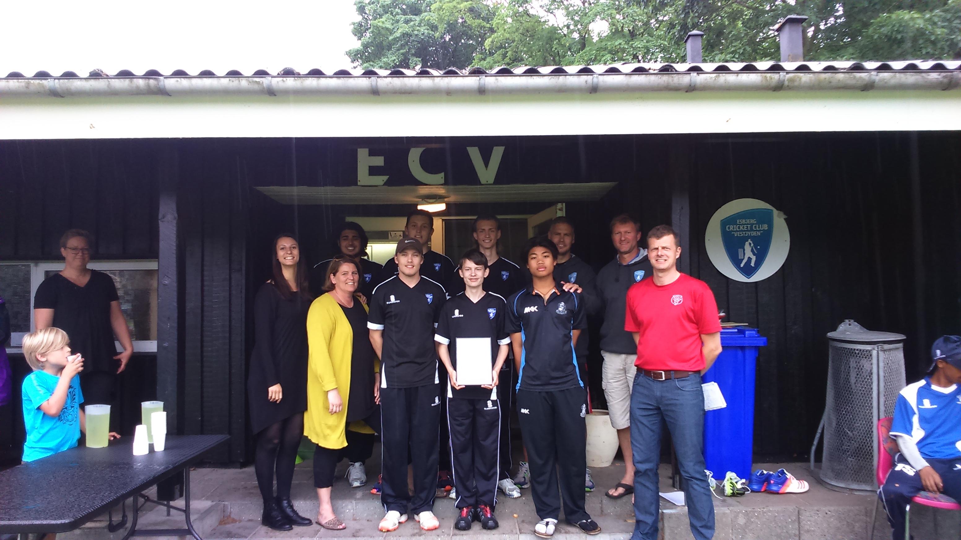 Cricket i Esbjerg: Unge løver skaber stærkt sammenhold 2