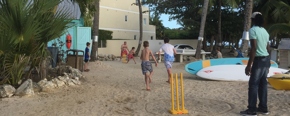 Cricket indtryk fra Caribien