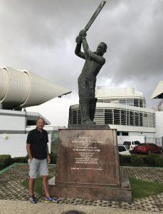 Cricketindtryk fra Caribien