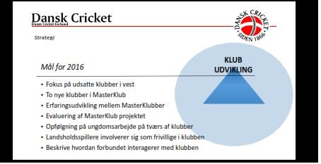 Klubudvikling2016.CricketForAlle