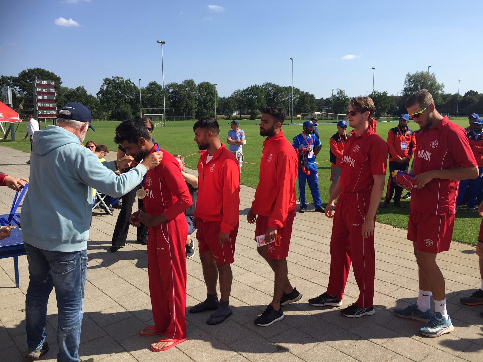 Danmark vandt gruppe A. og alle kampe 3