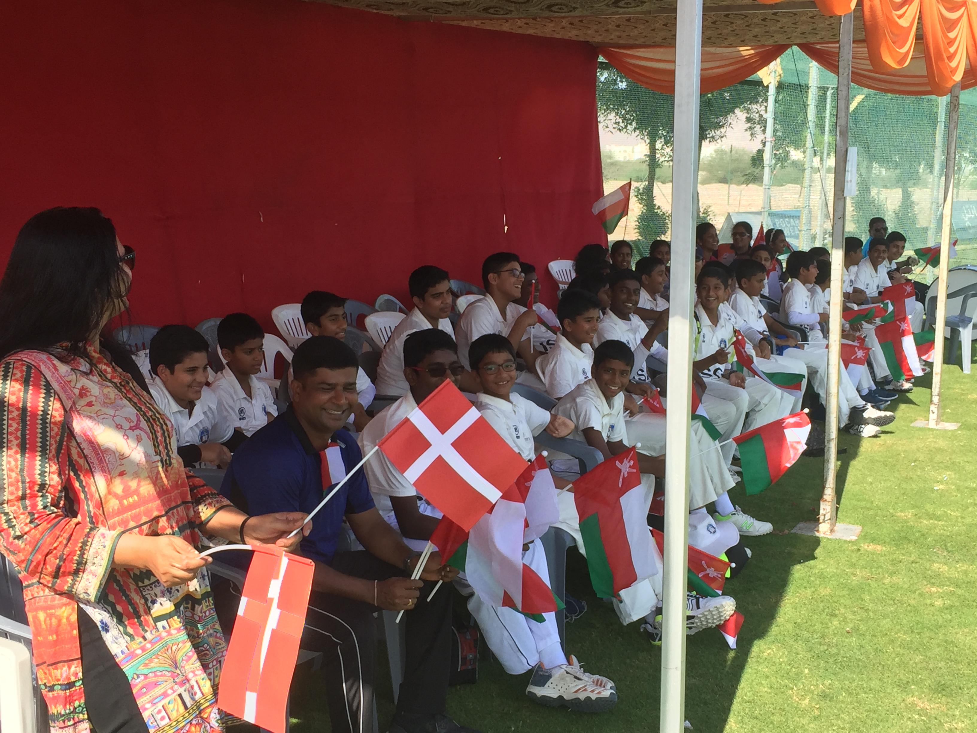 Det danske hold gav Oman en lige kamp 2