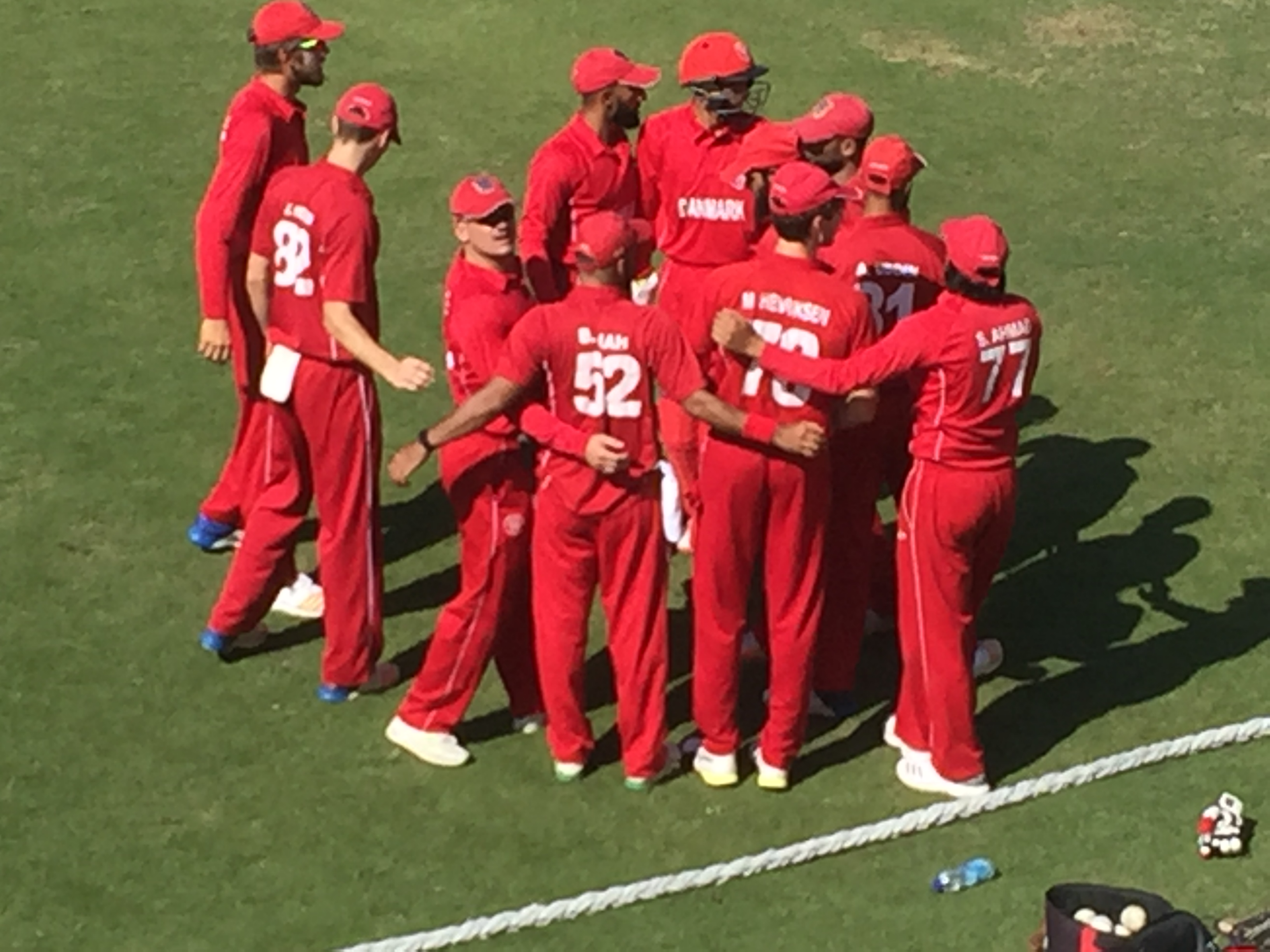 Det danske hold gav Oman en lige kamp 5