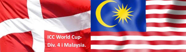 Det danske landshold spiller World Cup i Malaysia til foråret