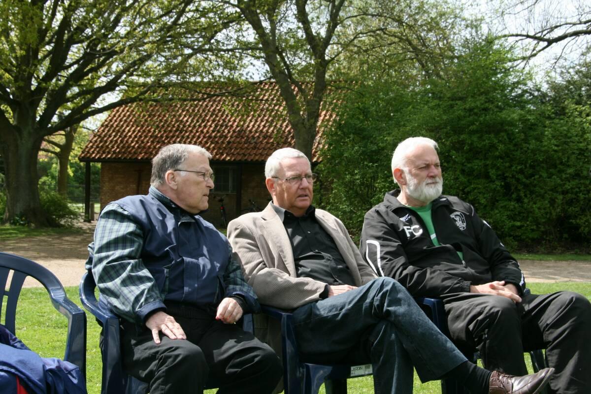 En stor og elsket cricketleder Folmer Christiansen er gået bort 1