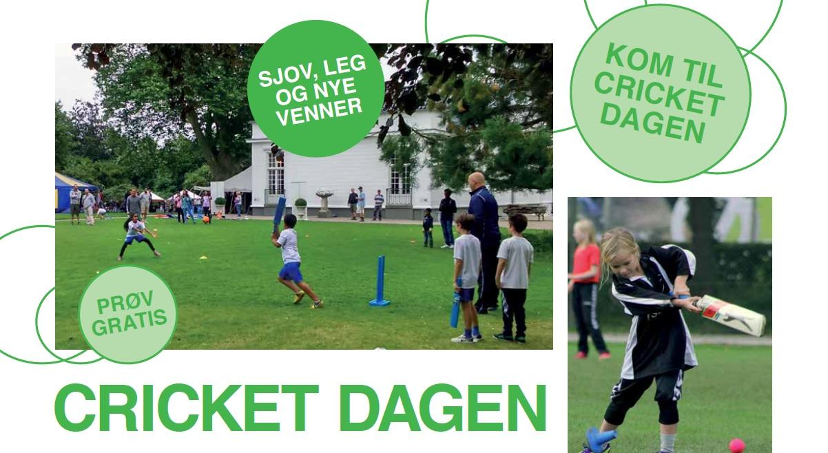 Kom til Cricket Dagen tæt på dig