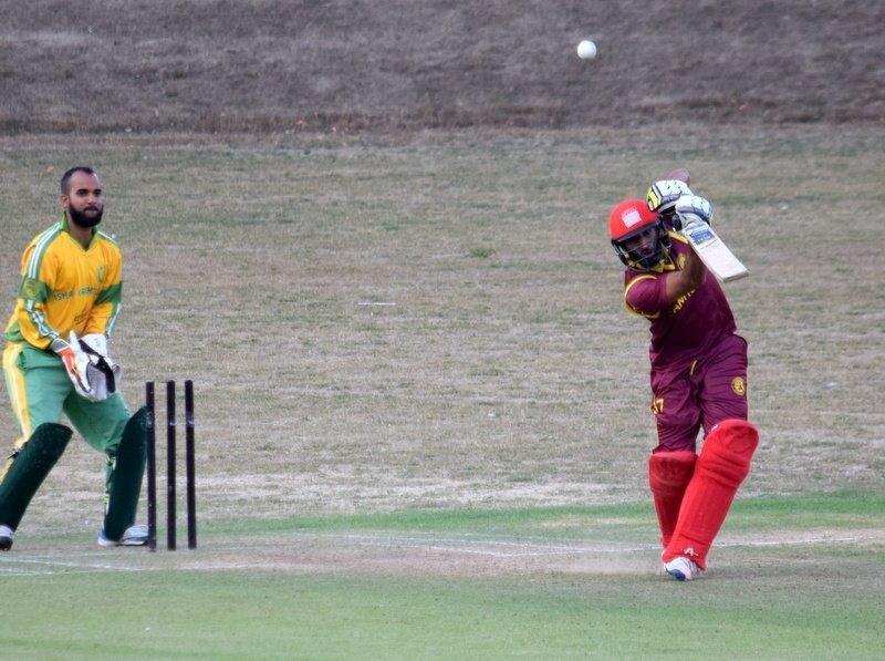 Svanholm besejrede Ishøj i den første DM-semifinale i T.20-cricket 3