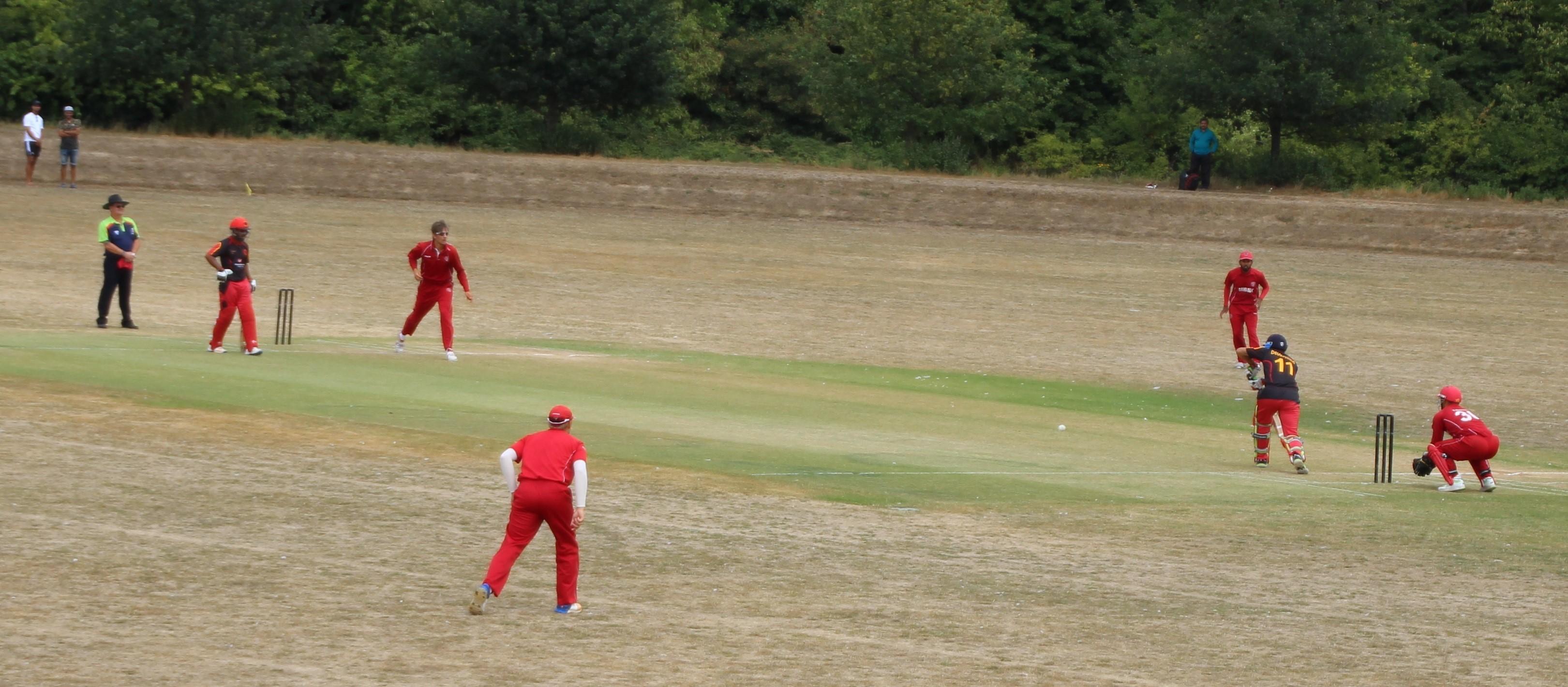 Underholdende T.20-cricket og to klare sejre over Tyskland 3